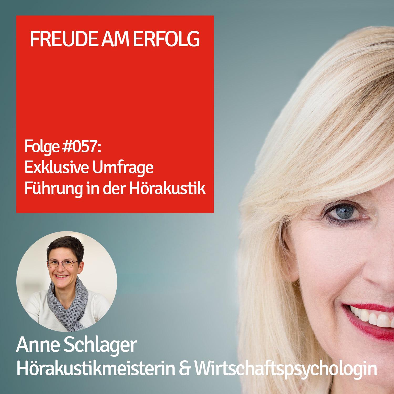 Anne Schlager im Podcast mit Veronika Vehr